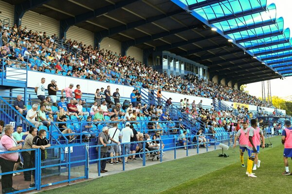 Fanúšikovia FC Nitra.