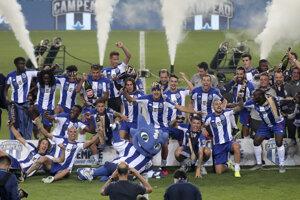 Futbalisti FC Porto.