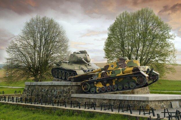 Tank v Údolí smrti