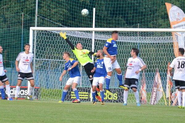 Ilustračné foto zo zápasu MŠK Novohrad Lučenec - FTC Fiľakovo.