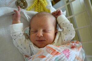 Vanesa (3110 g, 48 cm) sa narodila 10. júla Kataríne a Jozefovi z Trenčianskej Turnej.