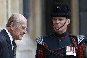Britský princ Philip.