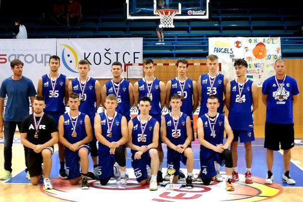 Basketbaloví juniori BKM SPU Nitra.