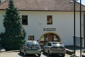 Obecný úrad v Markušovciach.