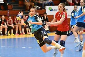 Pri víťazstve nad Viedenčankami bola so 4 gólmi najlepšou strelkyňou pivotka Barbora Königová.