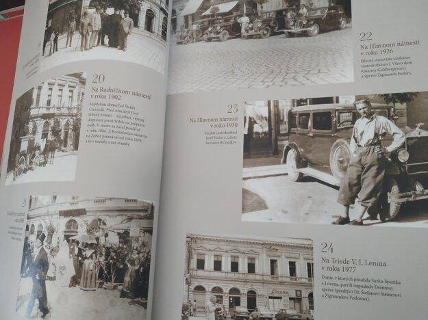 Kniha mapuje aj miesta, ktoré dnes už neexistujú.