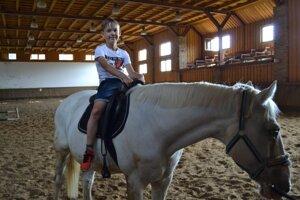 Jazda na koňoch.