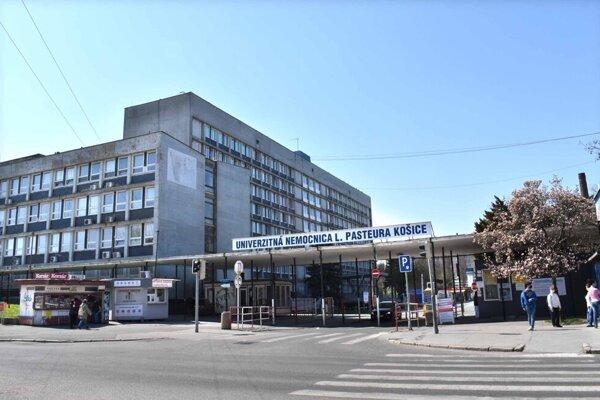 Univerzitná nemocnica L. Pasteura v Košiciach, pre ktorú pracoval Marek Križánek.