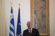 Grécky minister zahraničných vecí Nikos Dendias