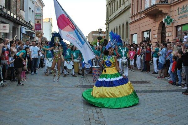 Z minuloročného festivalu Drumpoint Slovakia.