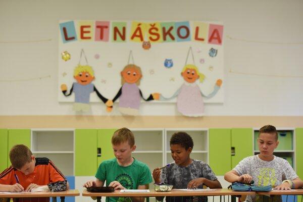 Letná škola (ilustračné foto)