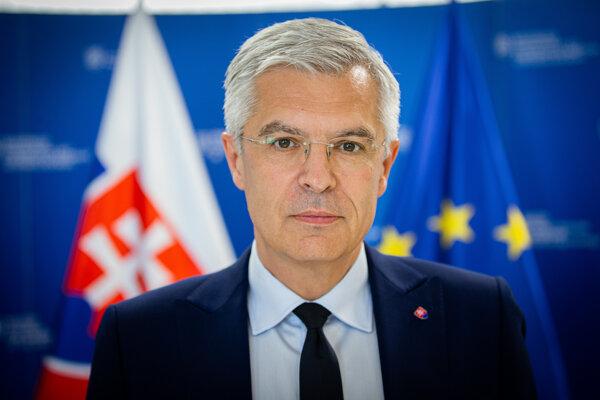 Minister zahraničných vecí a európskych záležitostí SR Ivan Korčok (nominant SaS).