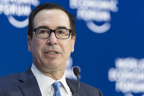 Steven Mnuchin, americký minister financií.