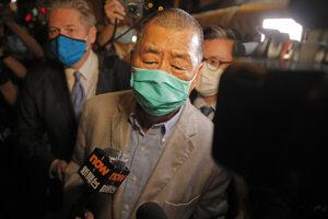 Hongkonský mediálny magnát Jimmy Lai.