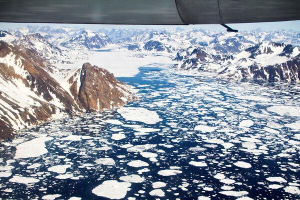 Ilustračná fotografia. Arktída sa topí výrazne rýchlejšie než zvyšok sveta.