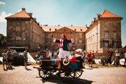 Rytiersky festival Rotenstein, najväčšia oslava stredoveku, Holíč