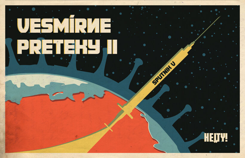 Vesmírne preteky II (Hej, ty!) 12. augusta