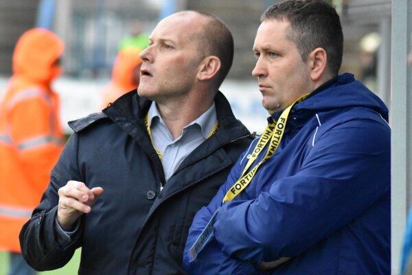V Michalovciach vytvorili zohranú dvojicu, teraz budú Anton Šoltis (vľavo) a Jozef Majoroš rivali.