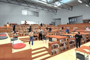 Jeden z návrhov hovorí o možnosti využiť budovu ako variabilnú študovňu.