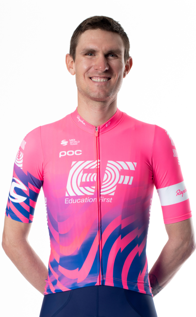 Tejay van Garderen, cyklista, tím EF Pro Cycling