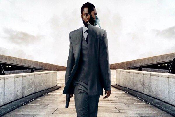 John David Washington vo filme Tenet Christophera Nolana.