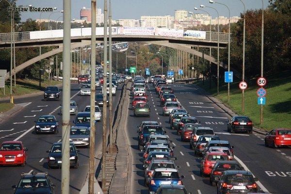 Varšava patrí medzi najzapchatejšie mestá Európy.