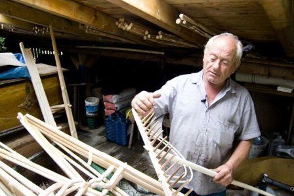 Ondrej Pinka prácu s drevom miloval a rozumel jej.
