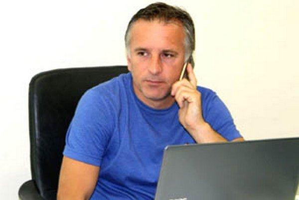 Generálny manažér FC Nitra Jozef Petráni.