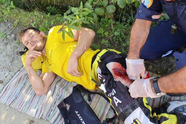 Štefan Svitko spadol v Grécku z motorky.