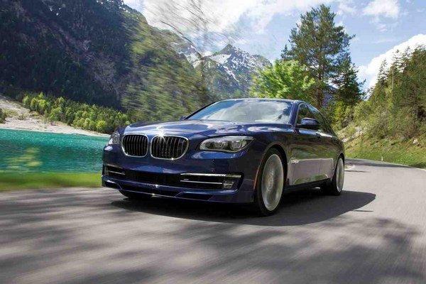 Výkonný model vlajkovej lode značky BMW pripravuje dvorný úpravca Alpina vo verzii B7.