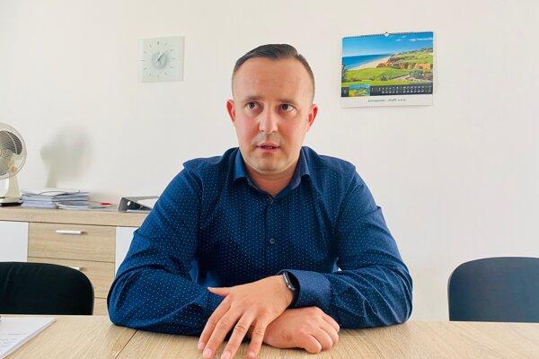Nový riaditeľ trenčianskej nemocnice Tomáš Janík.