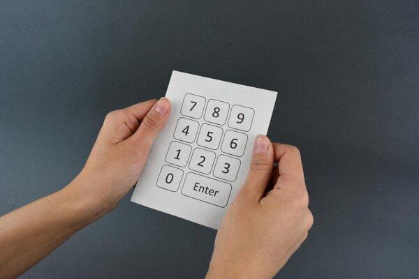 Jednoduchá tlačiarenska metóda premení papier na funkčnú klávesnicu.