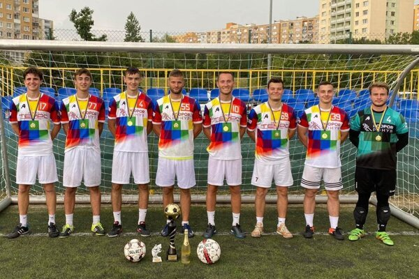 Nové košické futsalové mužstvo Podpor Pohyb má smelé ambície.