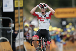 Tadej Pogačar vyhral 9. etapu Tour de France 2020.