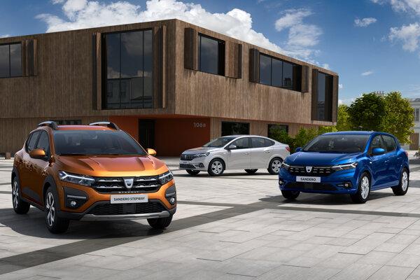 Nová Dacia Sandero Stepway, Logan a Sandero.