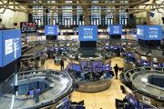 Obchodovanie na burze Wall Street v New Yorku.