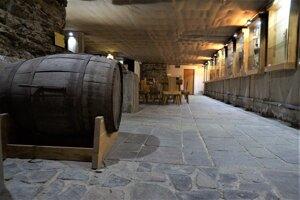 Popri archeologickom múzeu je v podzemí aj expozícia vínnej cesty, ktorá informuje o bohatej vinárskej histórii mesta Košice,