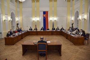 Na snímke kandidát na sudcu Ústavného súdu Slovenskej republiky Miloslav Babják.