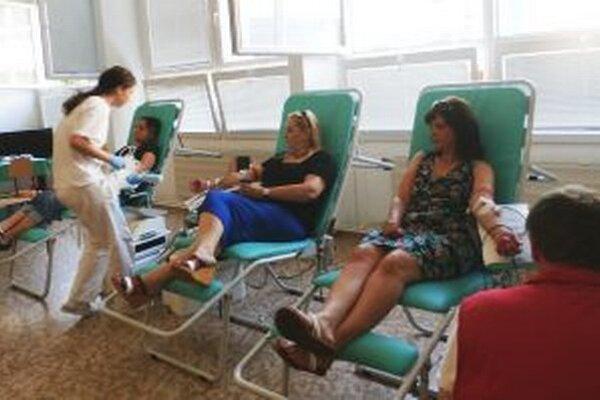Krv počas Miškinej kvapky nádeje darovalo 46 ľudí.