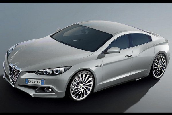 Aj takto môže vyzerať Alfa-Romeo v blízkej budúcnosti.