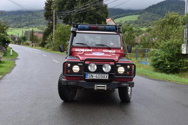 Horskí záchranári v Zboji vyrážajú na pomoc turistom v Poloninách.