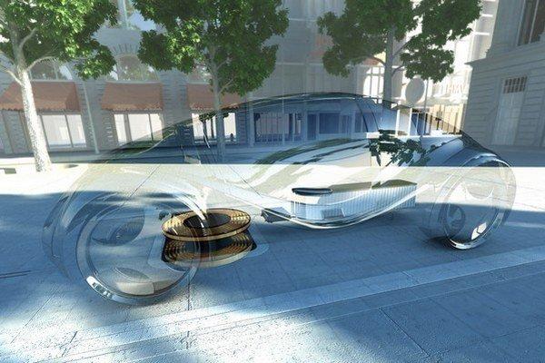 Predstava indukčných podložiek pre bezdrôtové nabíjanie od BMW-Siemens.