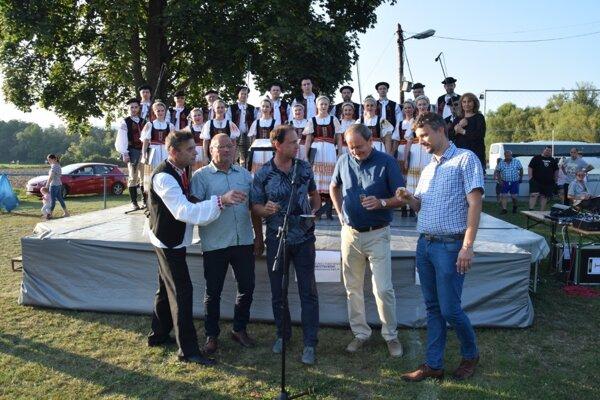 Krst CD s rozprávkami z Lupoče, Ružinej a Starej Haliče.
