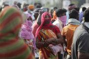 Obyvatelia indického mesta Džammu.