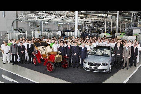 V roku 2013 uvedie Škoda na trh celkom osem nových, alebo prepracovaných modelov.