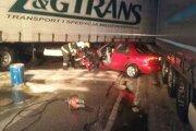 Dnes ráno došlo k dopravnej nehode na ceste I/11.