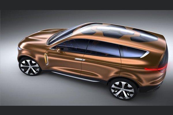 Kia Cross GT je navrhnutá tak, aby sa v jej interiéri odviezli štyria cestujúci aj s batožinou.