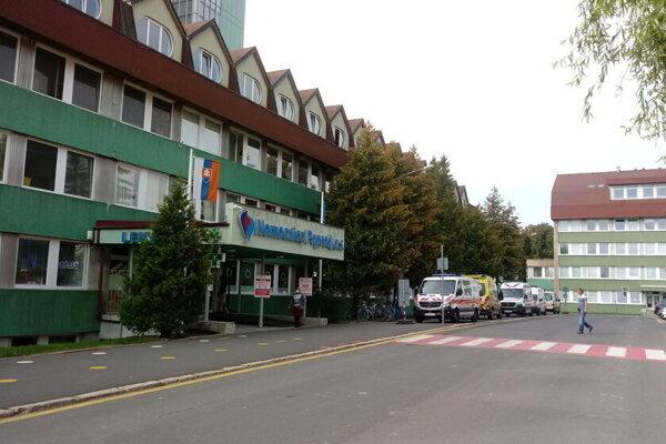 Nemocnica Poprad.