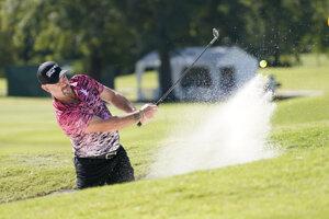 Rory Sabbatini na turnaji Sanderson Farms Championship v Jacksone.