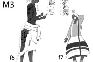 Vpravo mladý princ (ch´ok) Janaab K´ihnich (f7).
